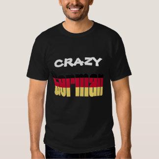 Crazy German T-shirt