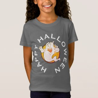 Crazy Ghost Halloween Shirt