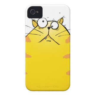 Crazy Ginger Tom Cat iPhone 4 4s Case Exclusive Case-Mate iPhone 4 Cases