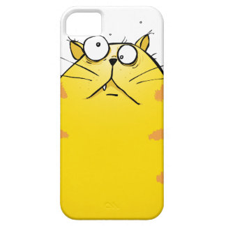 Crazy Ginger Tom Cat iPhone 5 Case Exclusive iPhone 5 Cover