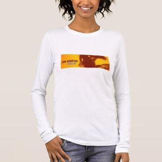 crazy girl cover strip long sleeve T-Shirt