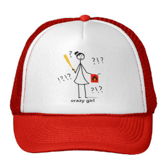 Crazy Girl Hat