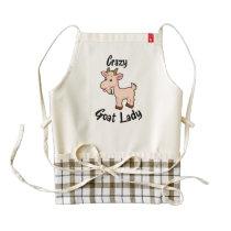 Crazy Goat Lady Apron