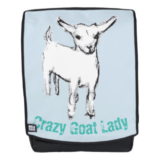 Crazy Goat Lady Backpack