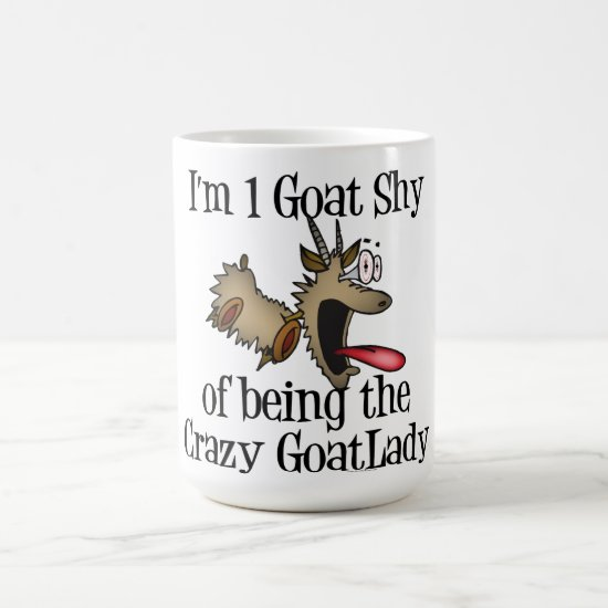 Crazy Goat Lady GetYerGoat Coffee Mug