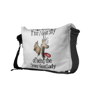 Crazy Goat Lady GetYerGoat Messenger Bag