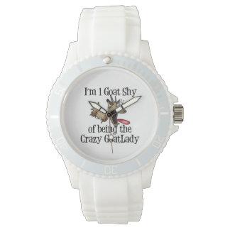 Crazy Goat Lady Watch