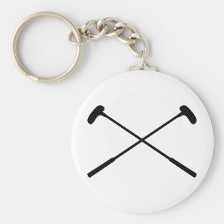 crazy golf clubs keychain