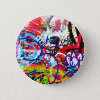 Crazy Graffiti Button