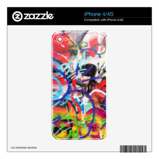 Crazy Graffiti iPhone 4S Skin
