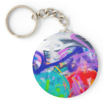 Crazy Graffiti Keychain
