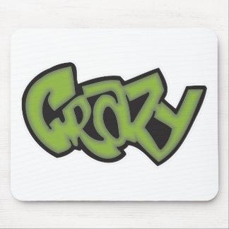 Crazy - Graffiti Mouse Pad