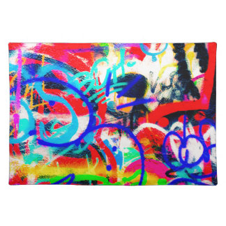 Crazy Graffiti Placemat