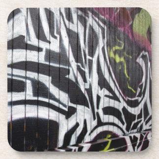 Crazy Grafitti Beverage Coaster