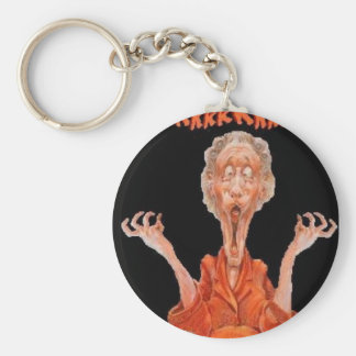 crazy granny keychain