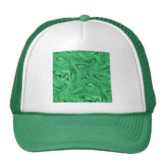 crazy_green_swirlz trucker hat