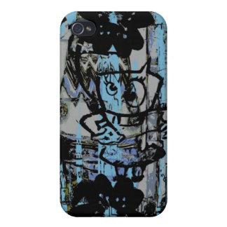 Crazy grunge graffiti iphone case