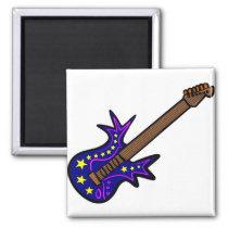 Crazy Guitar Magnet