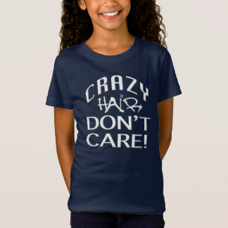 Crazy Hair Girls' Bella Jersey T-Shirt