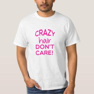 Crazy Hair Unisex Tee (pink)