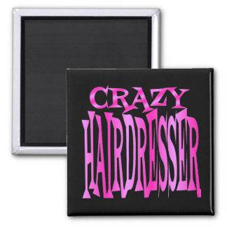 Crazy Hairdresser Magnet