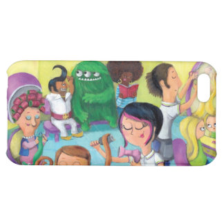 Crazy Hairdresser Saloon iPhone 5C Cases