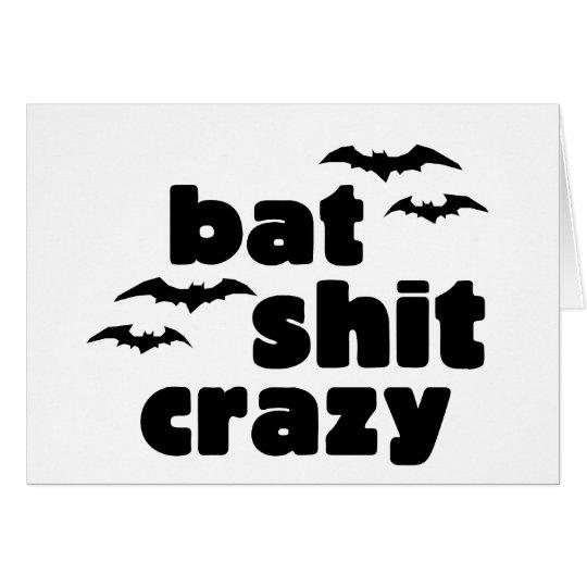 Crazy Halloween Card