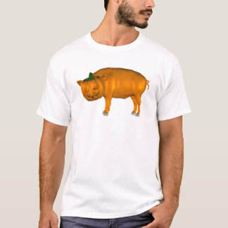 Crazy Halloween Pig T-Shirt