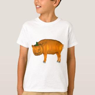 Crazy Halloween Pig T-Shirt
