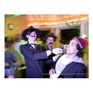 Crazy Halloween... Postcard