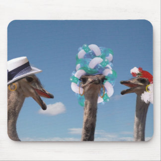 Crazy Hat Day at the Races Mouse Pad