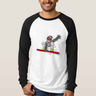 Crazy Hat Snowborder T-Shirt