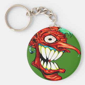 Crazy Head Keychain