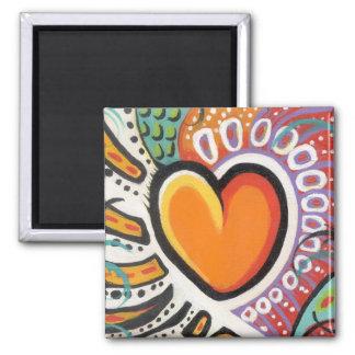 Crazy Heart Magnet