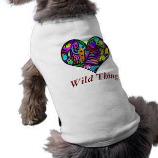 Crazy Heart Pet Clothing