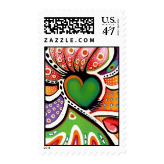 Crazy Heart Stamp