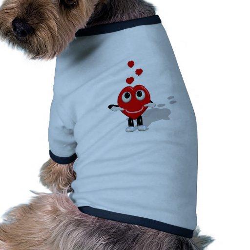 Crazy Hearts Haustiershirt