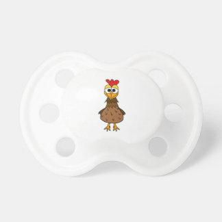 Crazy Hen Pacifier