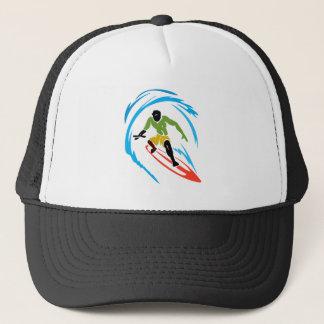 Crazy Hippie Fish Trucker Hat