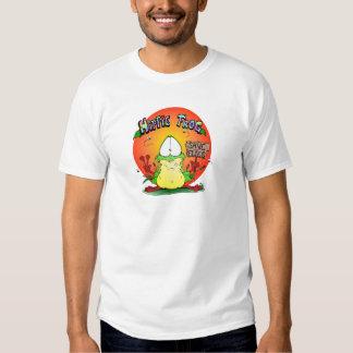 Crazy Hippie Frog Shirt