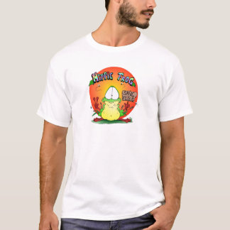 Crazy Hippie Frog T-Shirt