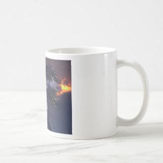 Crazy Horse Blue Coffee Mugs