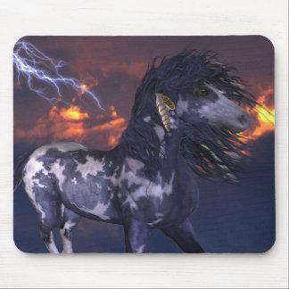 Crazy Horse Blue Mouse Pad