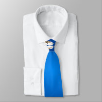 Crazy Horse Blue Neck Tie