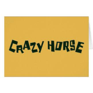 crazy horse card