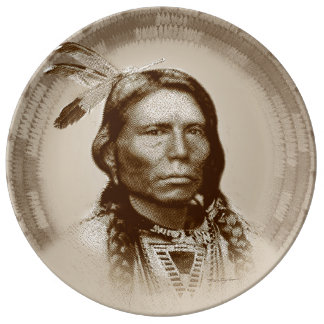Crazy Horse Dinner Plate