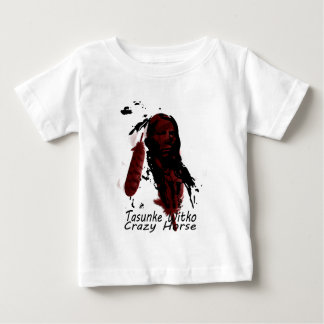 crazy-horse feather baby T-Shirt