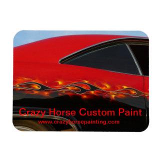 Crazy Horse Hot Rod Premium Magnet