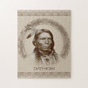 Crazy Horse Jigsaw Puzzle
