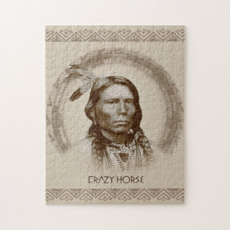 Crazy Horse Jigsaw Puzzle